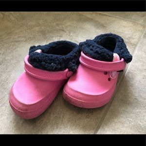Crocs with removable liner size 6/7